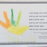 """""""My Own Two Hands"""" coloring sheet"""